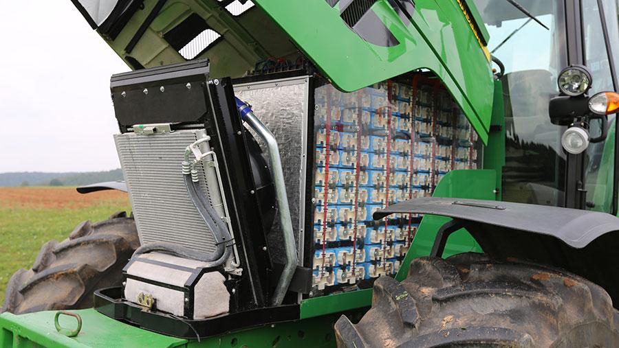 John Deere Sesam tractor