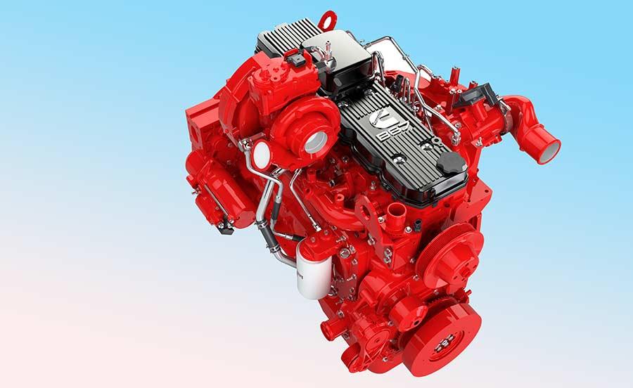 Cummins B6.7 Stage V engine