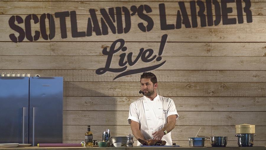 Scotland's Larder live demo