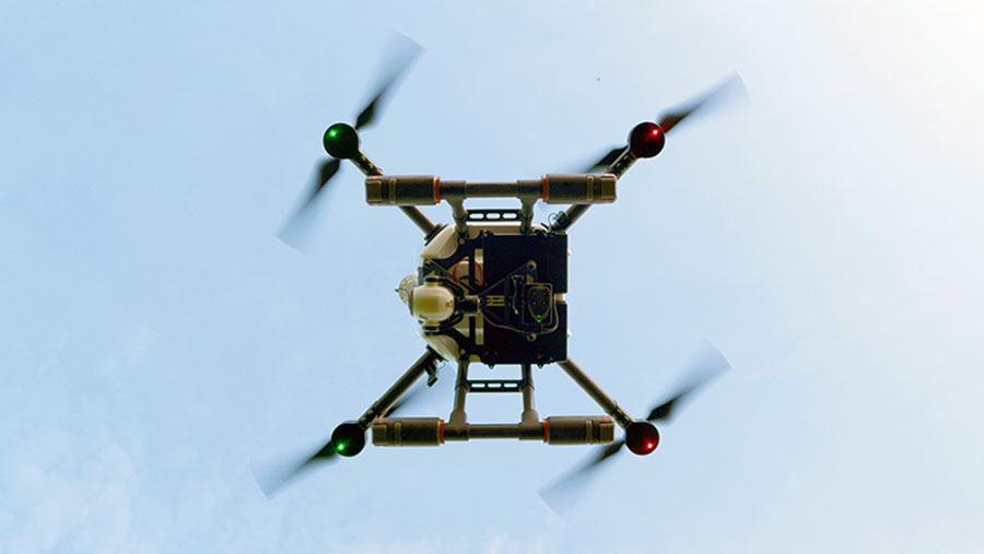 Drone hovering © Drone AG