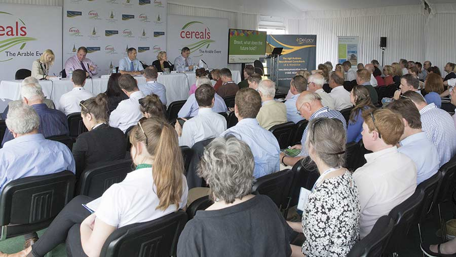 Conference at Cereals 2017