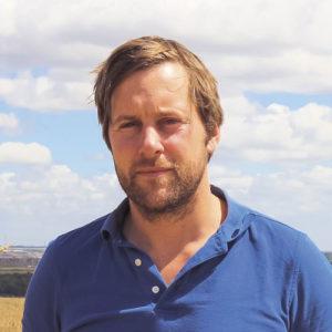 Tom Martin in Rapeseed Harvest