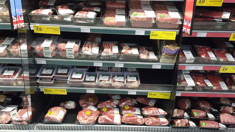 Fresh meat on Morrisons shelves
