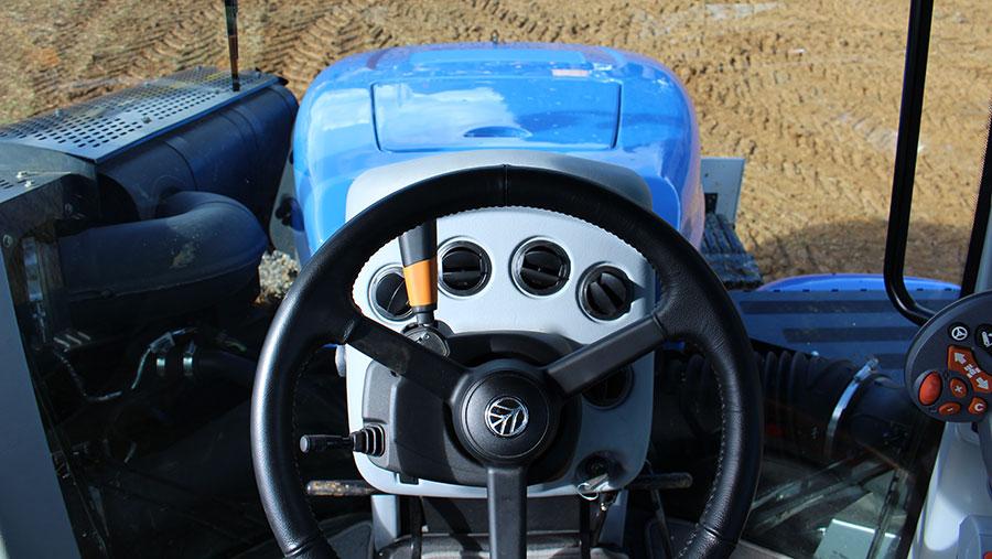 The T9 tractors cab