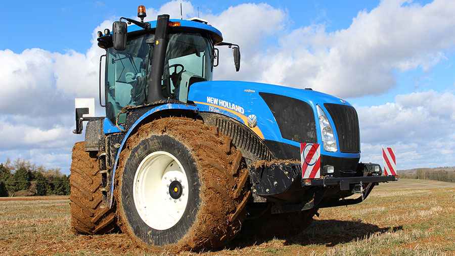 The T9 tractor