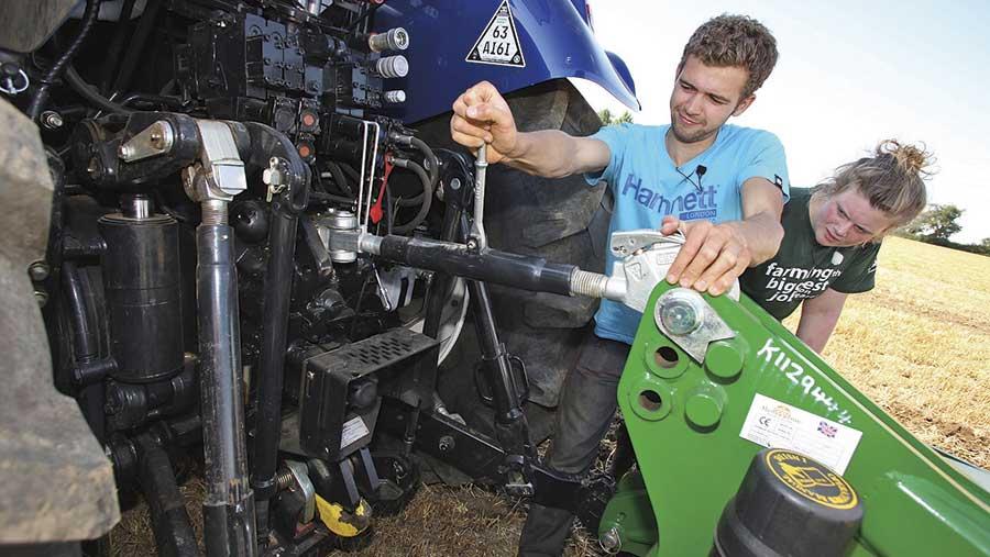 Will Hinton, Farmers Apprentice winner 2014