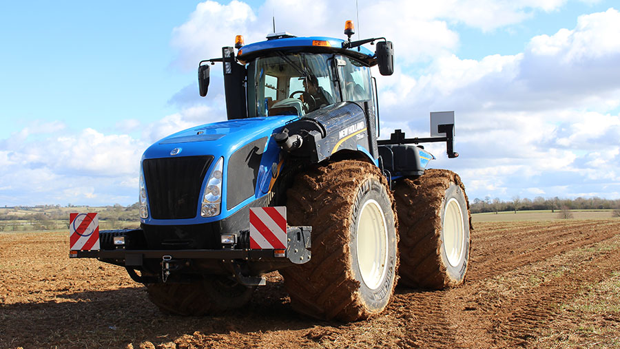 A T9 tractor