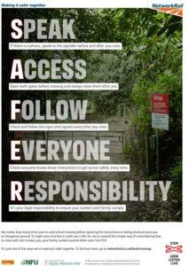 NFU safety poster