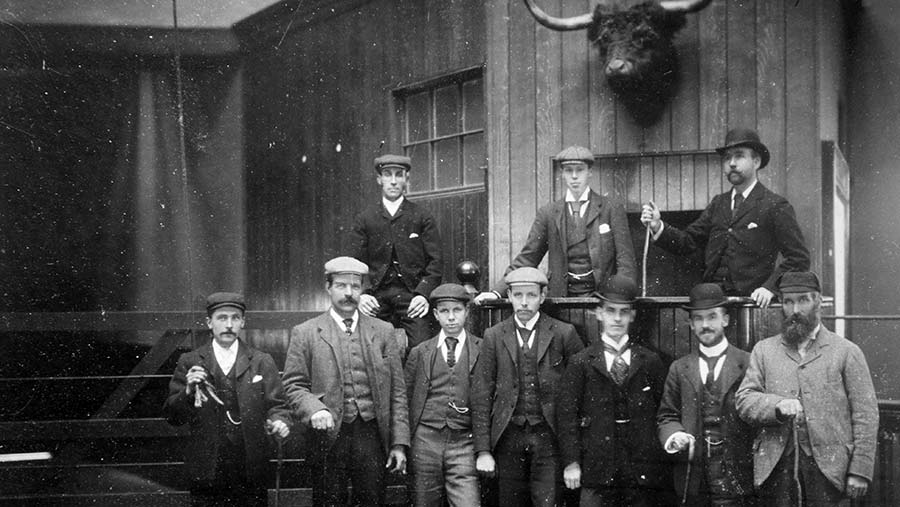 Auctioneers Lawrie & Symington old livestock market photos