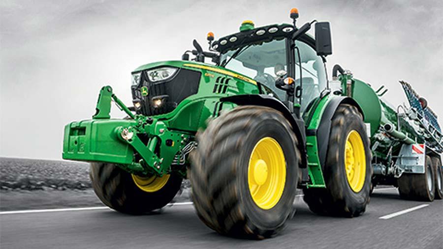 John Deere 6145  tractor