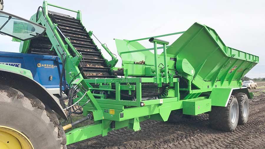 Jones root crop chaser