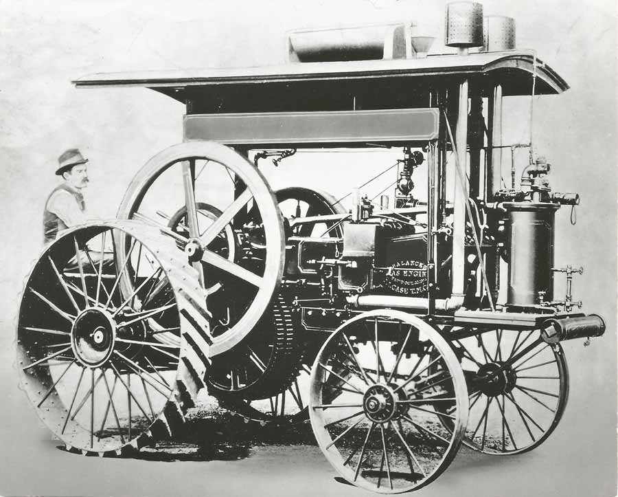 1892 Case tractor