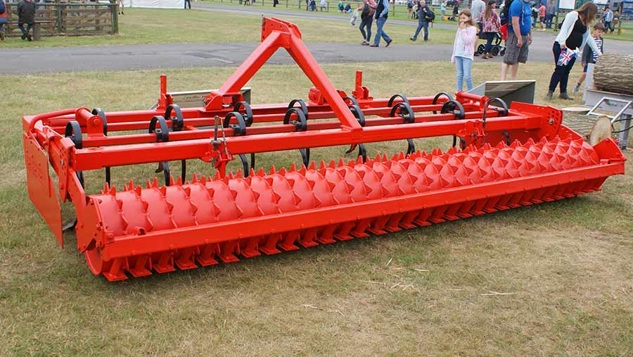 Andrew Fane's weed-control germinator/cultivator