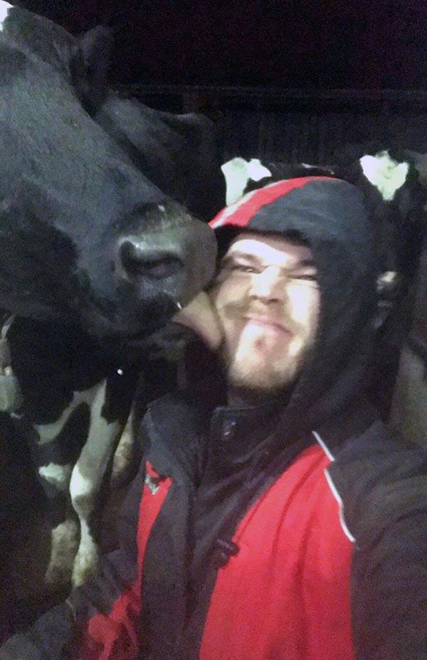 Ian Jones selfie
