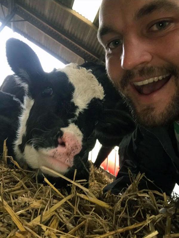 Sam Atkinson selfie