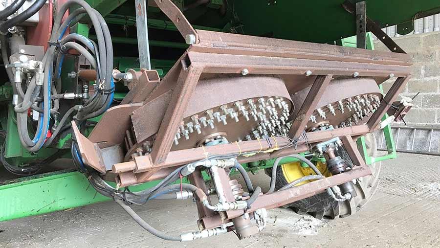 Pin mill full assembly
