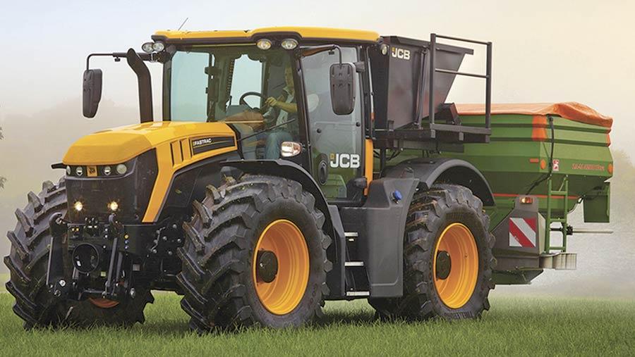 JCB Fastrac 4160 tractor