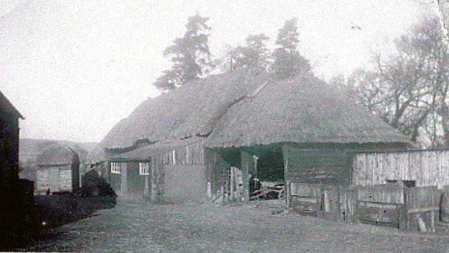 Old barn at Maple Farm
