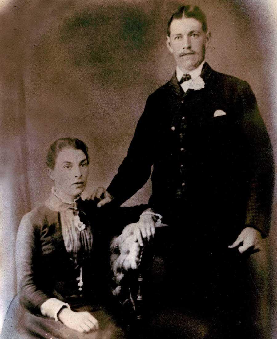 William and Kate Cummins