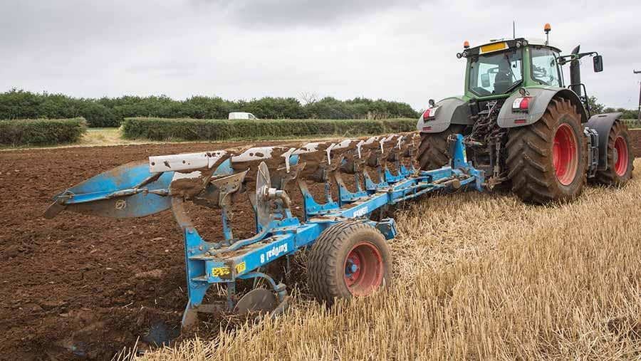 Ploughing © Tim Scrivener