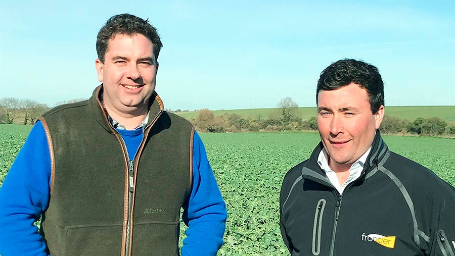 Mr Solley and Mr Peters (OSR Kent, no credit)