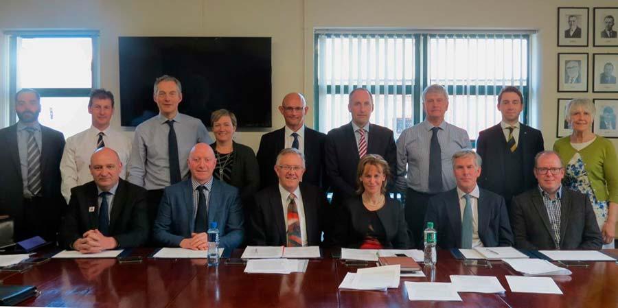 Representatives from 15 UK farming organisations met  in Belfast