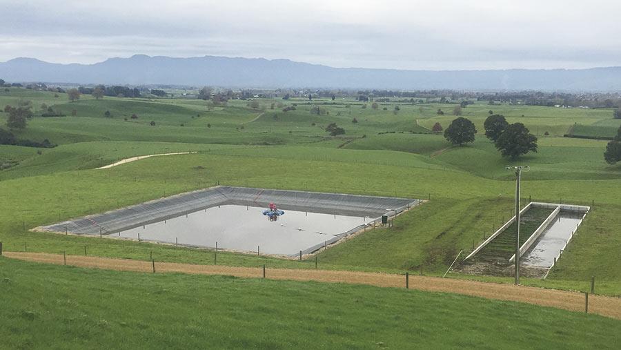 An effluent system