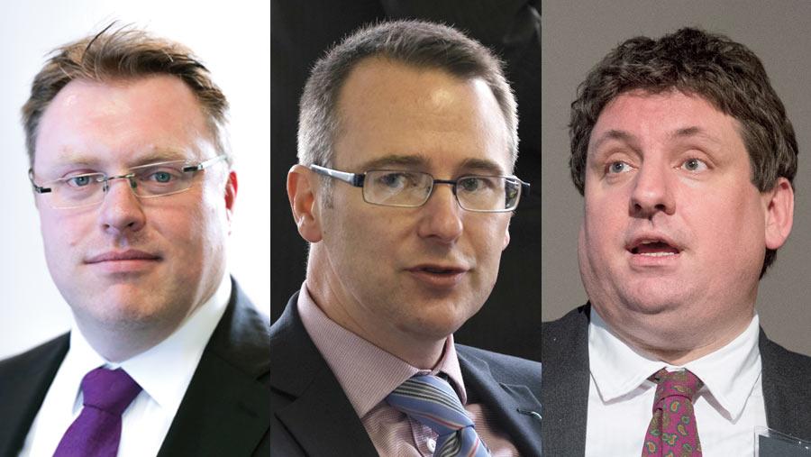 Terry Jones, Scott Walker and Christopher Price