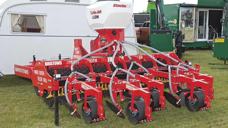 Bristows Multi Tooth Tiller Roll