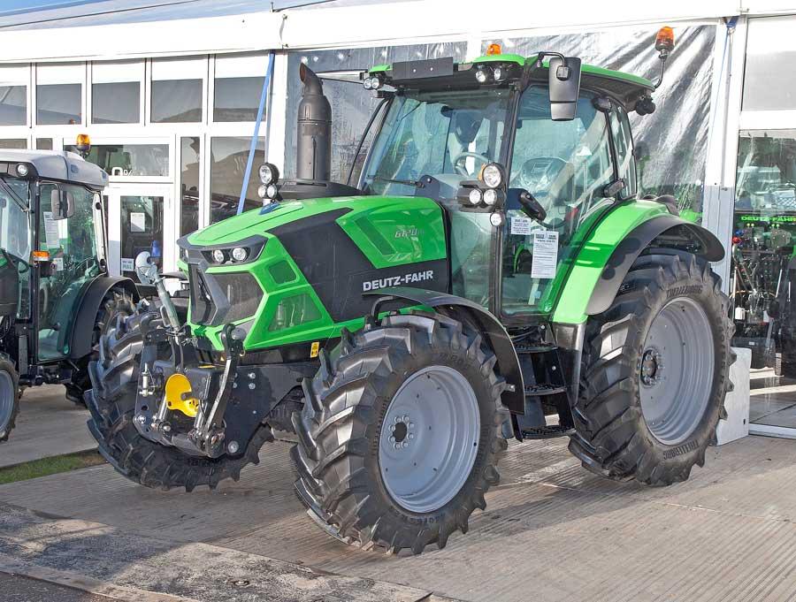 Deutz 6-series tractors