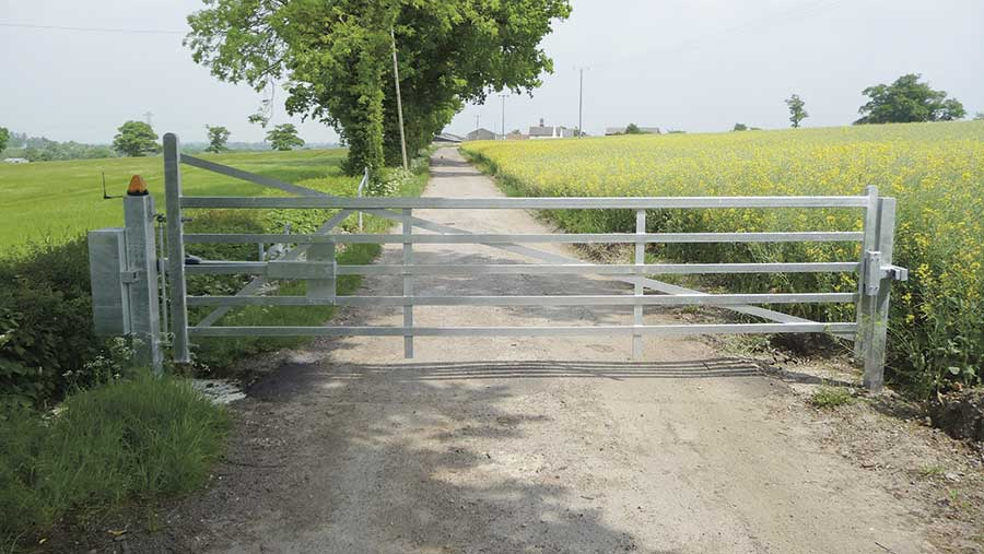 A Turnpikes gate