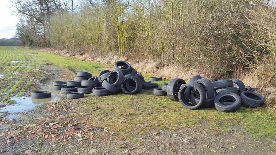 pattiswick tyres dumped