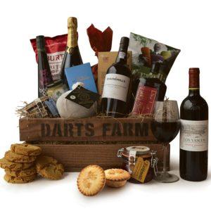 Darts Farm Christmas hamper © Darts Farm Shop
