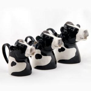 Friesian cow jugs