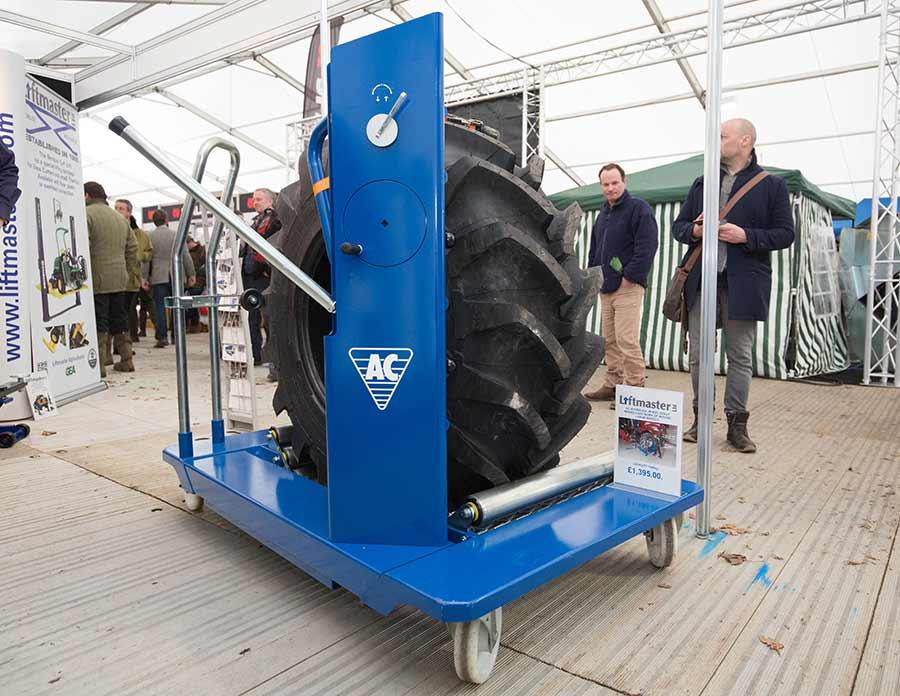 Liftmaster wheel changer