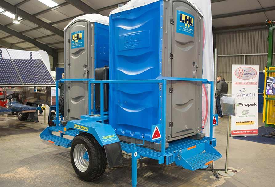 Agri IP toilet trailer