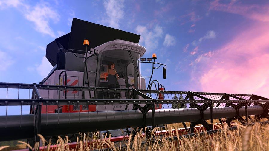 Screenshot from Farming Simulator © Farming Simulator