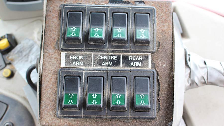 cab controls