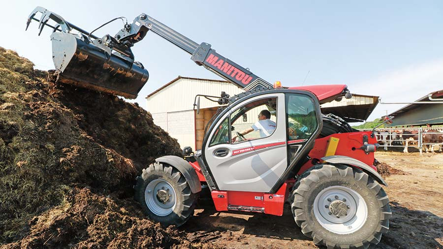 Manitou at work