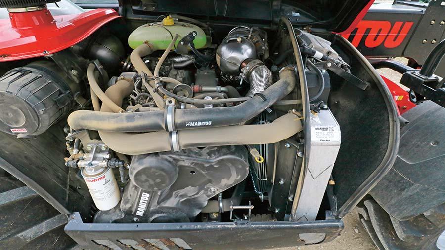 Manitou engine