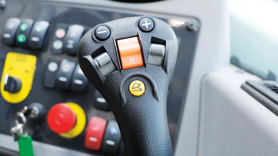 Bobcat joystick