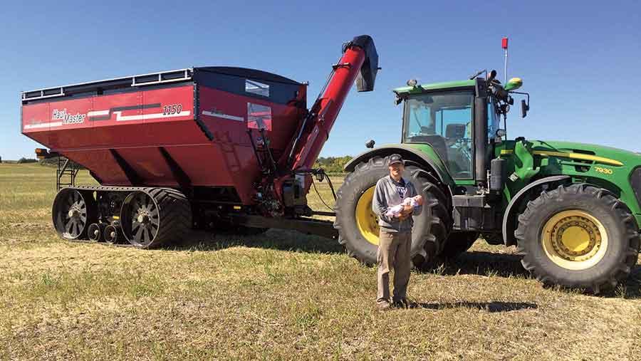 Matthew-Reimer-and-his-robot-tractor