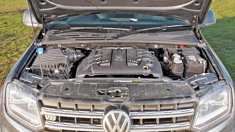 VW Amarok engine