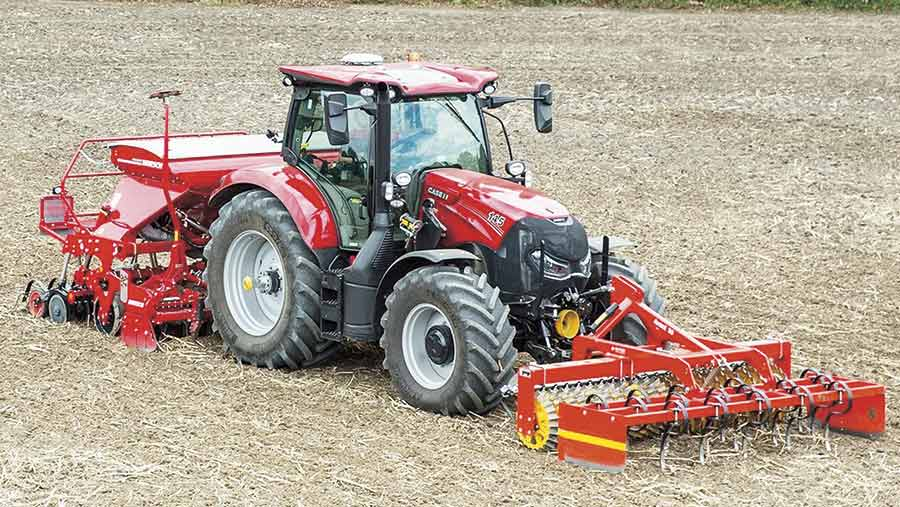 Case IH Maxxum 145 tractor