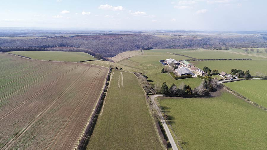 25-acre smallholding in Locton, North Yorkshire