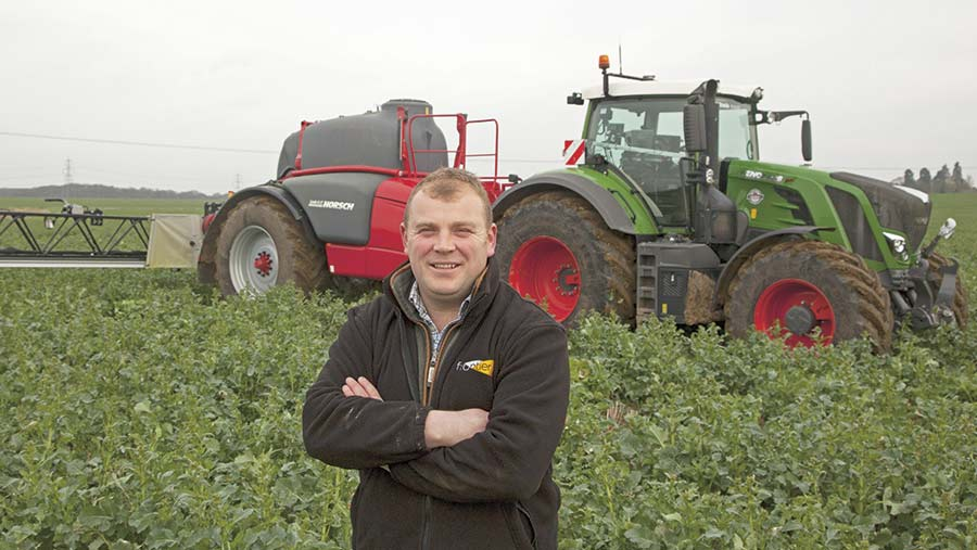 Bedfordshire farmer Ben Hall