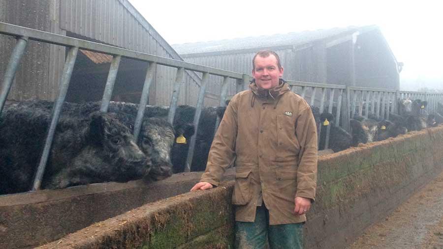 Exmoor farmer Sam Smyth