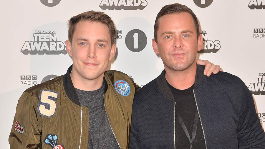 Scott Mills and Chris Stark © SILVERHUB MEDIA/SIPA/REX/Shutterstock
