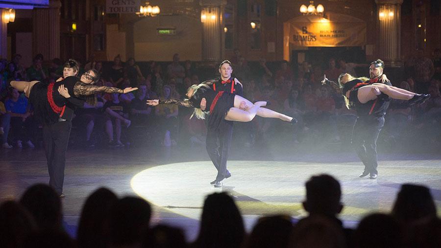 Dancing finals YFC © Tim Scrivener