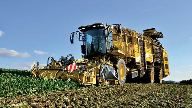 Ropa Tiger 5 harvester